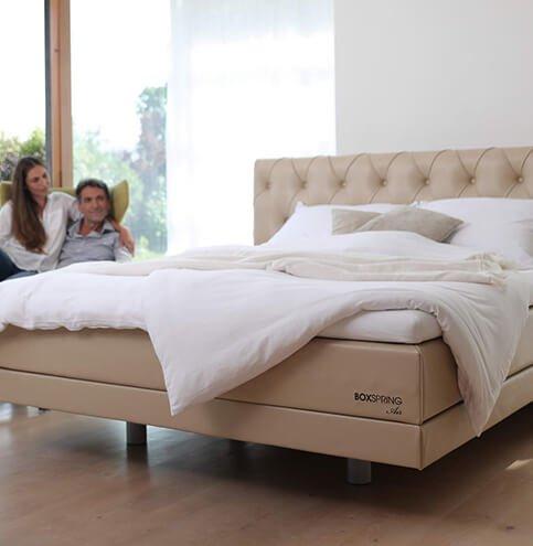 Boxspring - kvalitetna spring box postelja Air - za popolno udobje. Maremico spalni center.