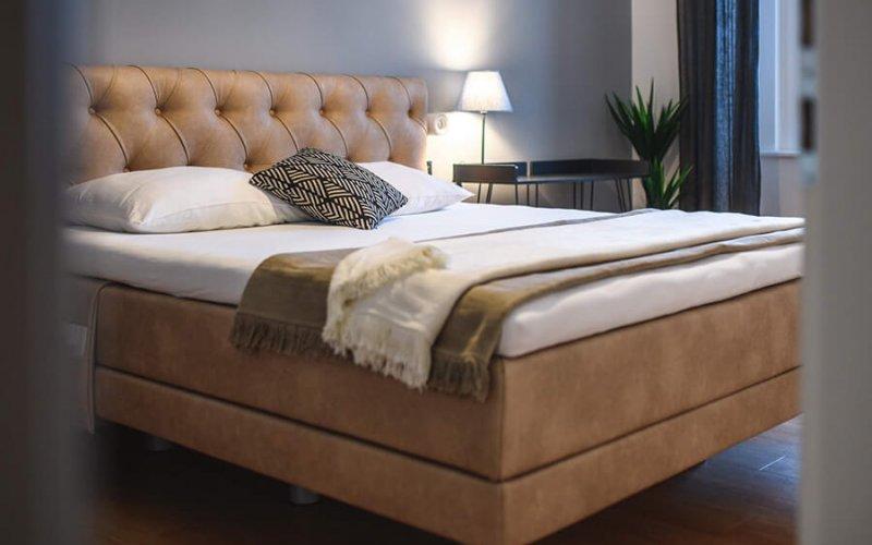 Boxspring postelje – modeli Air. Brezplačna montaža v Maremico spalni center.
