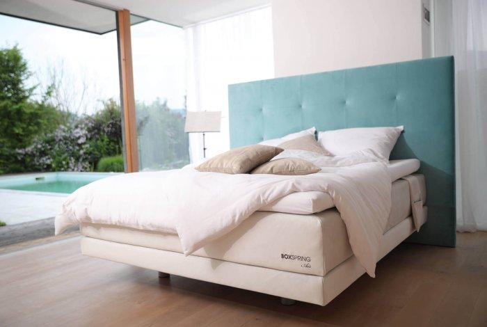 Luksuzna postelja BoxSpring Lux z nadstandardno višino