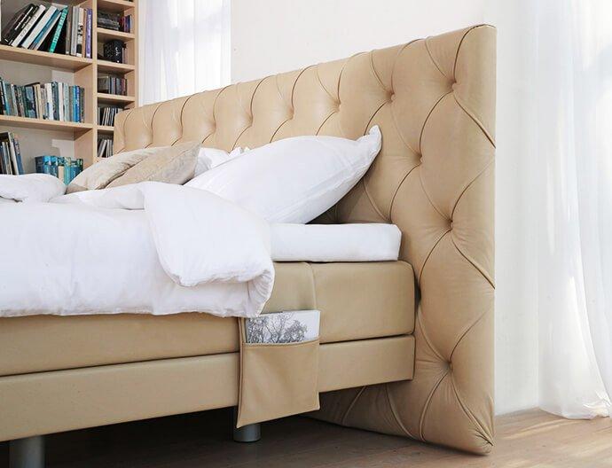 Boxspring postelje z žepkom. Ročno izdelane postelje po meri za dovršeno spanje. Maremico lebdeče postelje.