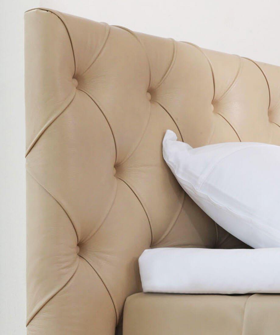 Boxspring postelje – Air model. Brezplačna montaža v Maremico spalni center.