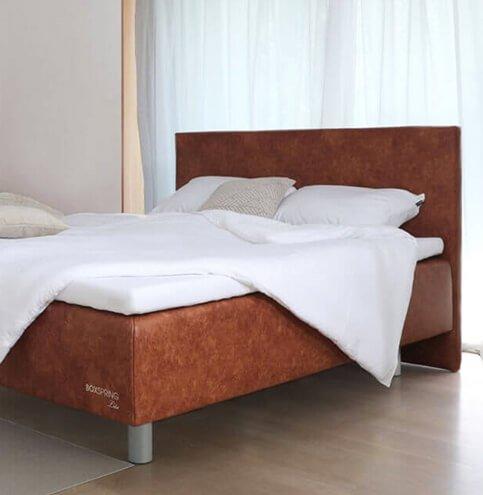 Boxspring postelja Lite - postelje po meri za dovršeno spanje. Maremico spalni center za podporo telesu.