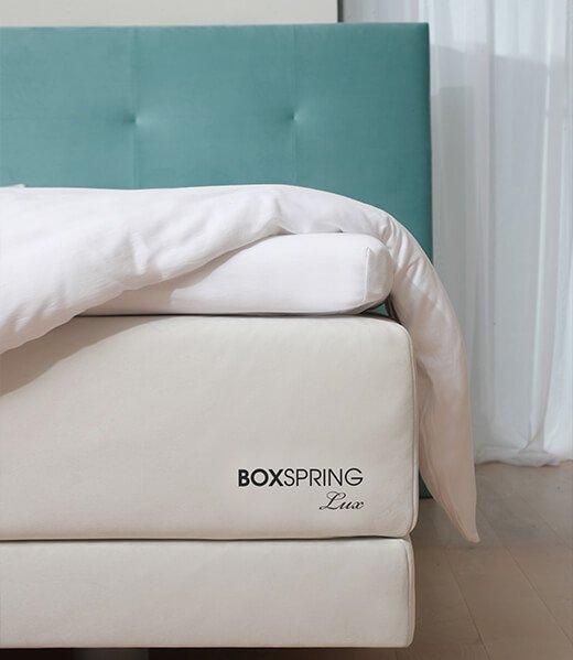 Boxspring - kvalitetna spring box postelja Lux - za zbujanje brez bolecin. Maremico spalni center.
