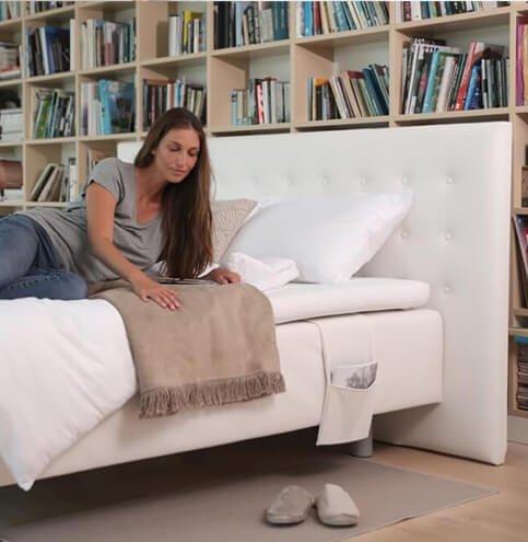 Boxspring - kvalitetna spring box postelja Lux - za popolno udobje. Maremico spalni center.